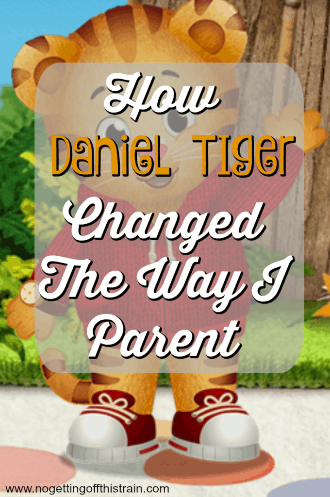 Daniel Tiger has changed the way I parent! Come read how this simple show has changed my toddler, and me too.