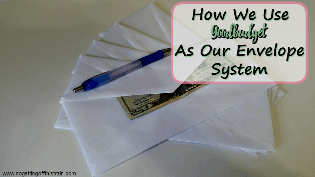 We like the envelope system but don't like using cash! Here's how we use Goodbudget to keep track of our spending.