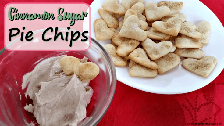 Cinnamon Sugar Pie Chips