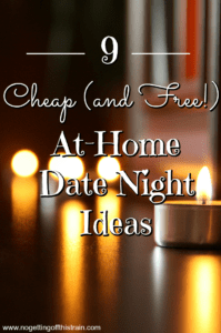 at home date night pinterest no getting off this train