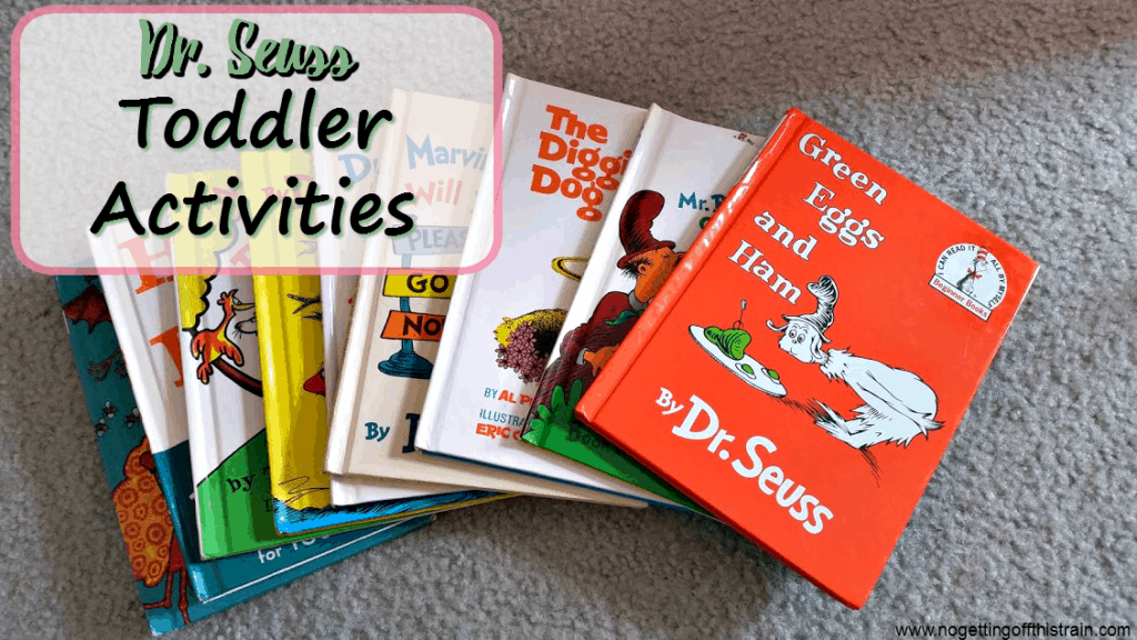 Celebrate Dr. Seuss Day with these three activities to help keep your toddler busy and learn at the same time!