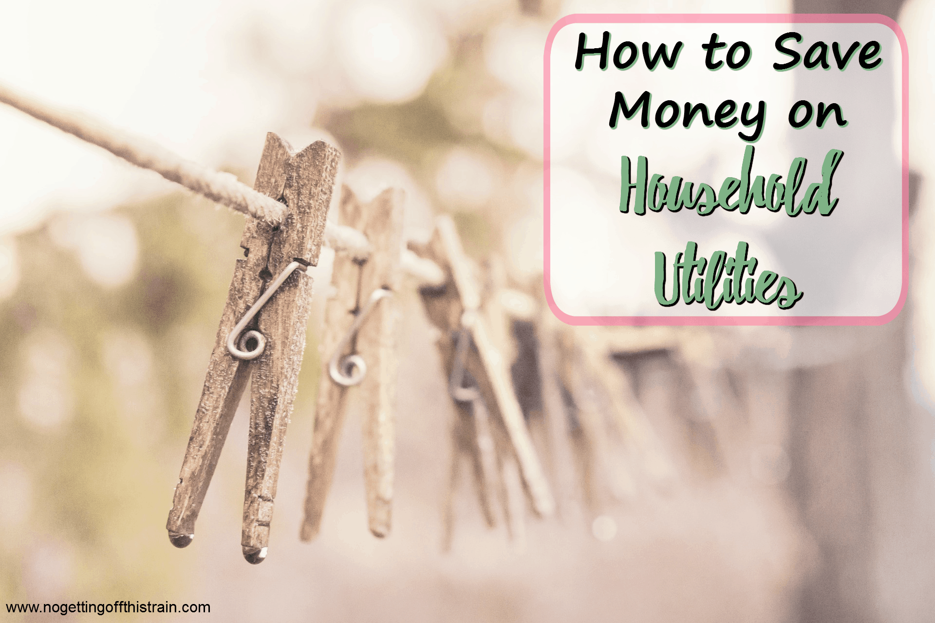 How to Save Money on Household Utilities