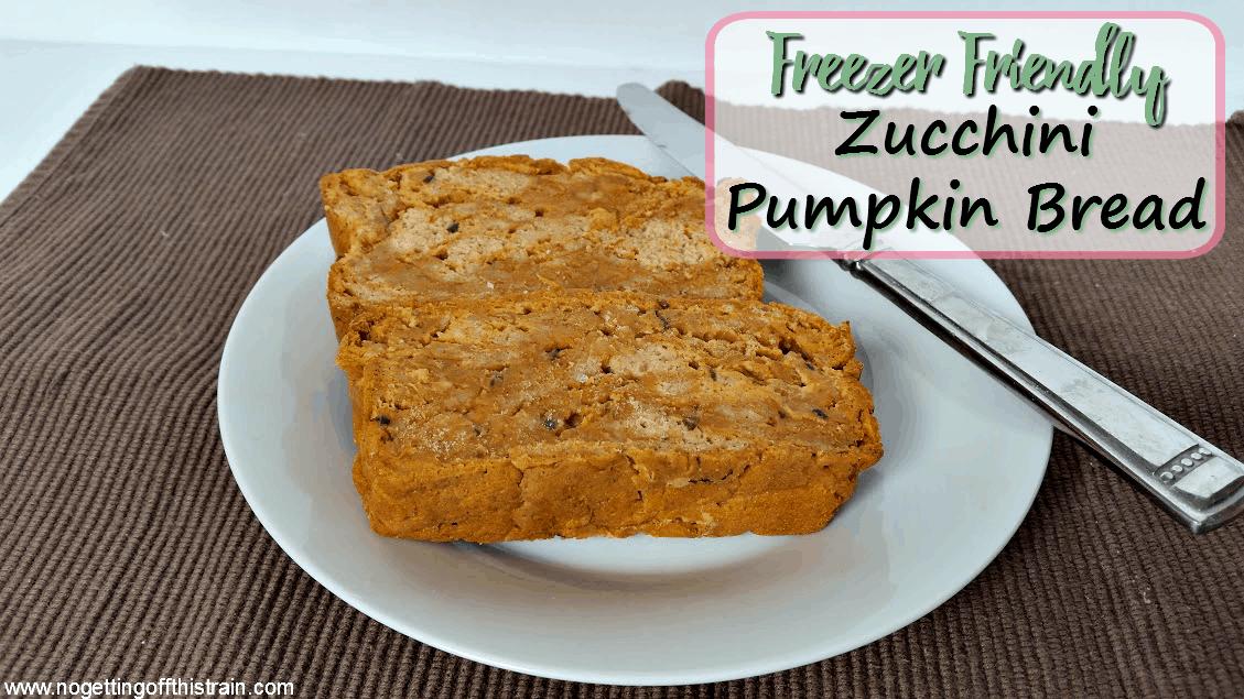 Freezer-Friendly Pumpkin Zucchini Bread