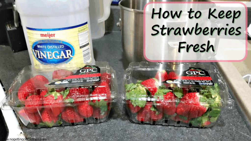 How to Keep Strawberries Fresh