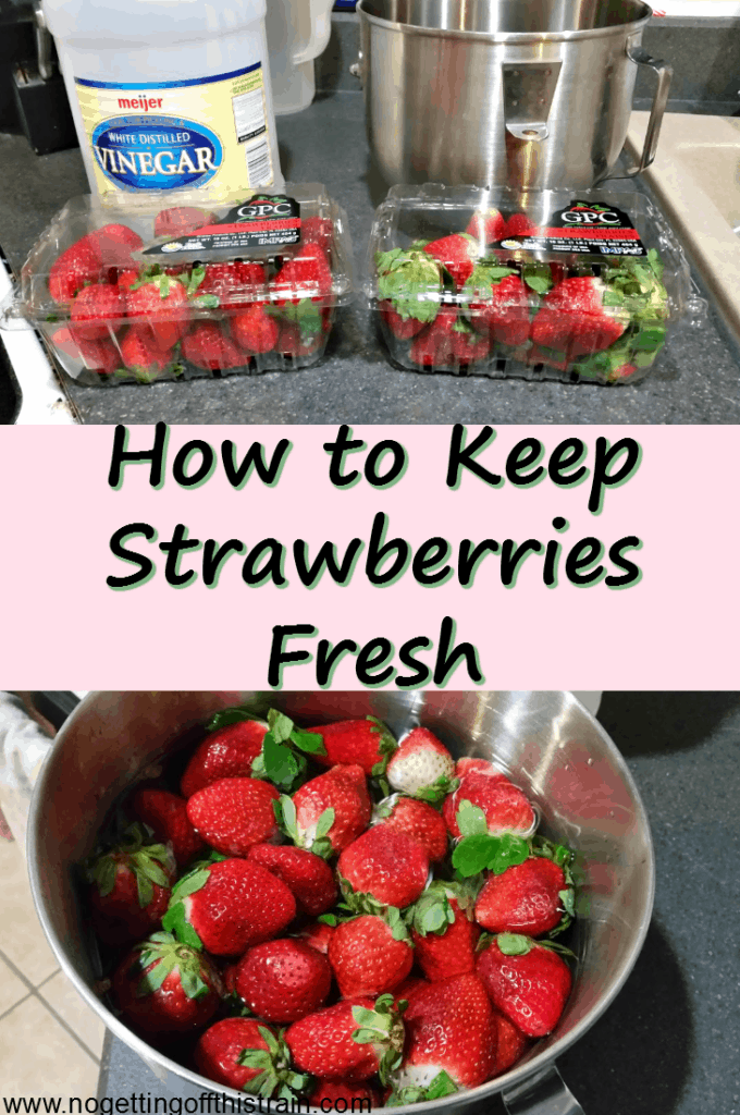 Do you struggle with figuring out how to keep your strawberries fresh? Here's a method to make them last longer to avoid food waste!