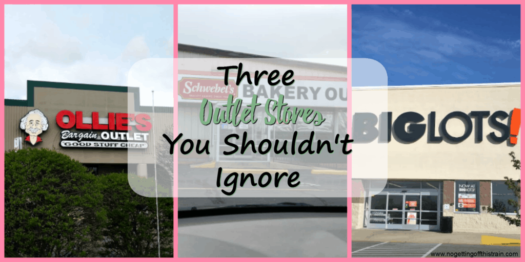 Outlet stores can be a fantastic source of saving money! Here are 3 outlet stores you shouldn't ignore if you want to stay frugal.