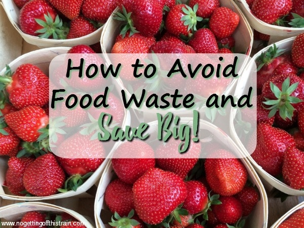 Food waste is a big problem. Here are some tips on how to avoid food waste that will help you save money on your groceries!