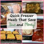 Quick Freezer Meals to Save Time AND Money!
