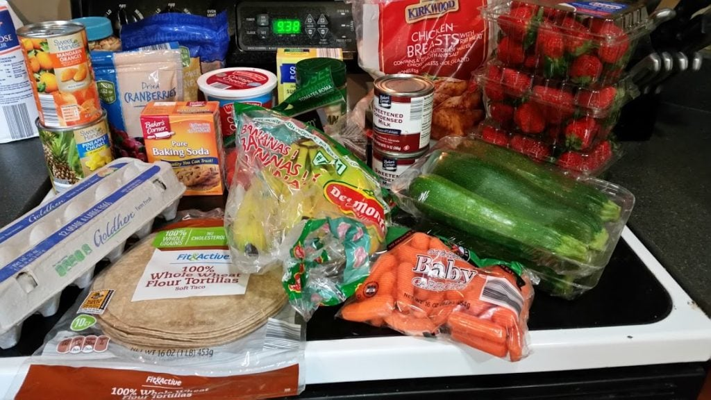 Meal plan, grocery list, and coupon deals for 5-22-17. Want to know what a family of 3 eats for $75 a week? Check back every Monday!