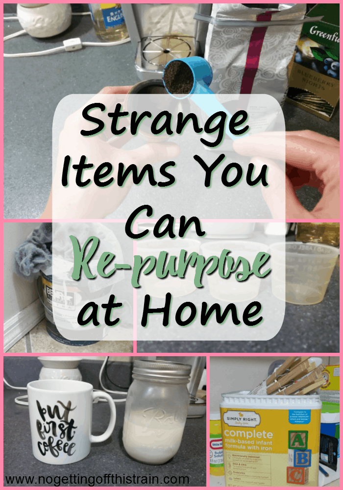 Instead of throwing out items you think are junk, why not try to re-purpose them? Here are some strange items you can actually re-purpose! #reuse #frugal