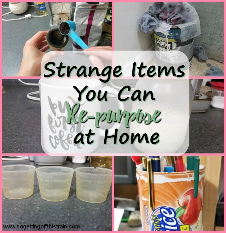 Strange Items You Can Re-purpose at Home