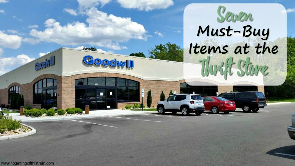 Thrift stores are an amazing way to save money on things you need! Here are seven must-buy thrift store items you should be looking for.