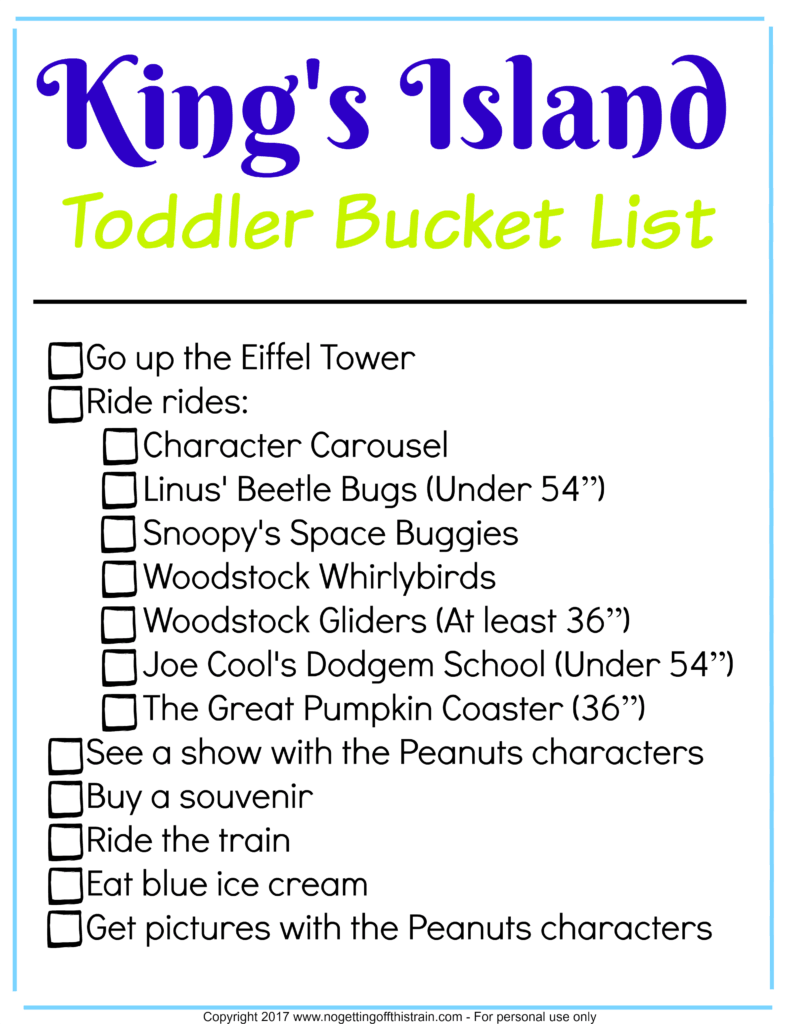 Visiting Kings Island with your little ones? Here is your complete toddler's guide to Kings Island, including what to ride and where to eat!