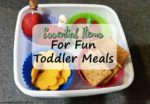 Essential Items for Fun Toddler Meals