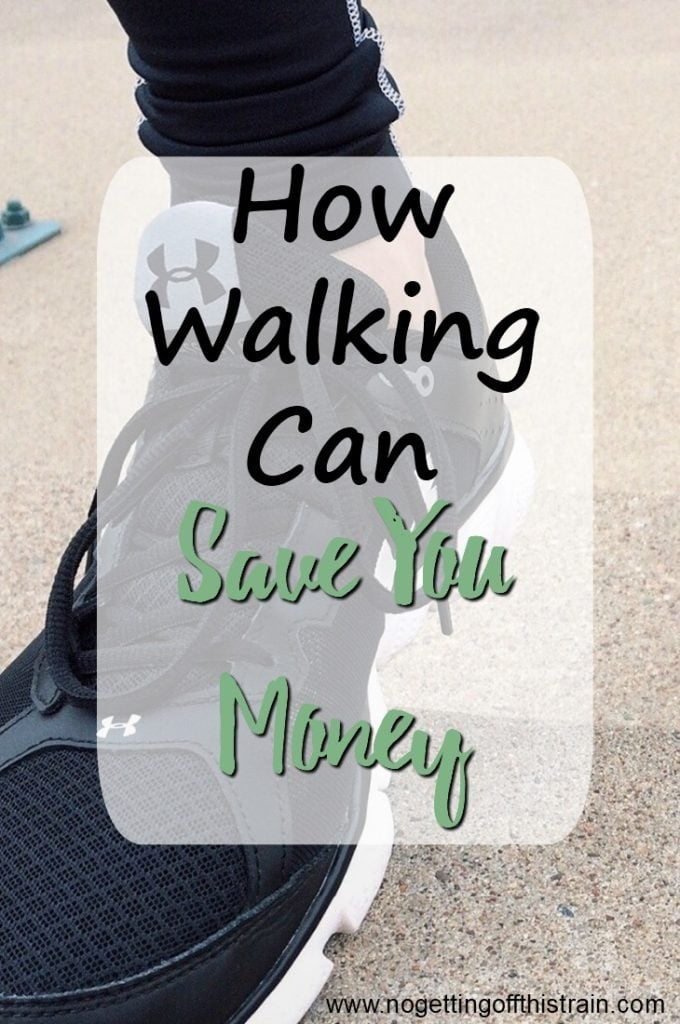 Can you save money walking? Here are 5 ways that walking can save money, earn money, and help you get healthier, one step at a time!