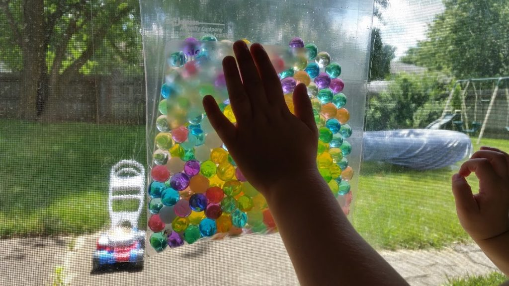 Water beads are an excellent toy for curious toddlers! Here are some toddler water bead activities to keep you busy and cure boredom!