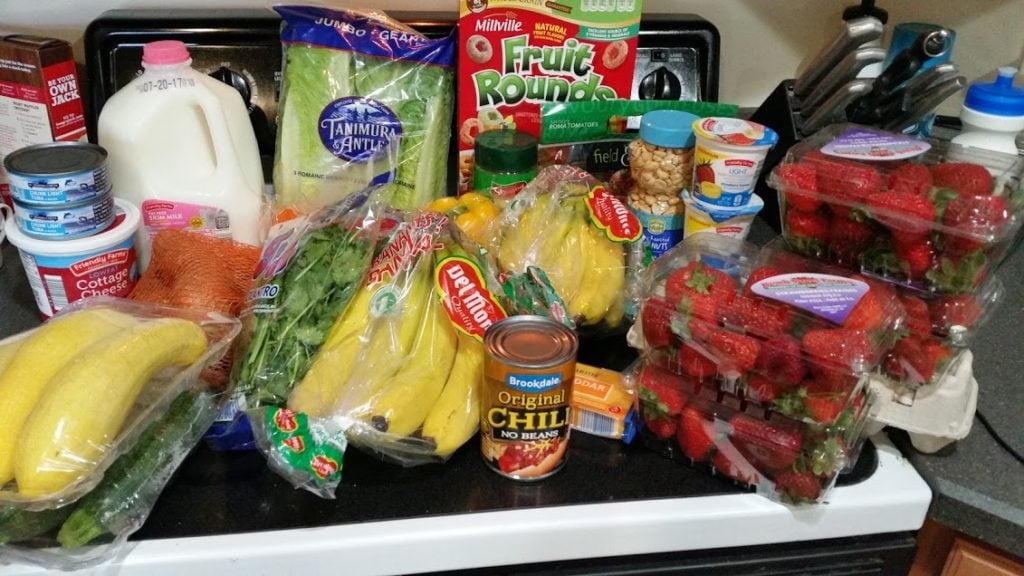 Meal plan, grocery list, and coupon deals for 7-10-17. Want to know what a family of 3 eats for $75 a week? Check back every Monday!