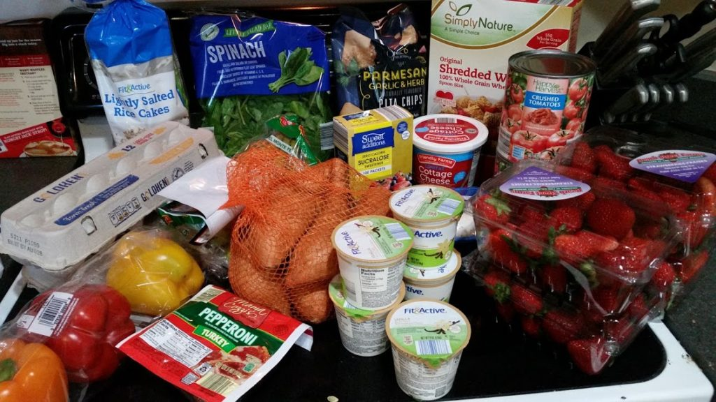 Meal plan, grocery list, and coupon deals for 8-7-17. Want to know what a family of 3 eats for $75 a week? Check back every Monday!