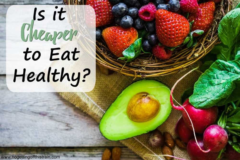 Is it cheaper to eat healthy? Use this guide to determine what is healthy for your family and what you could eat on a budget!