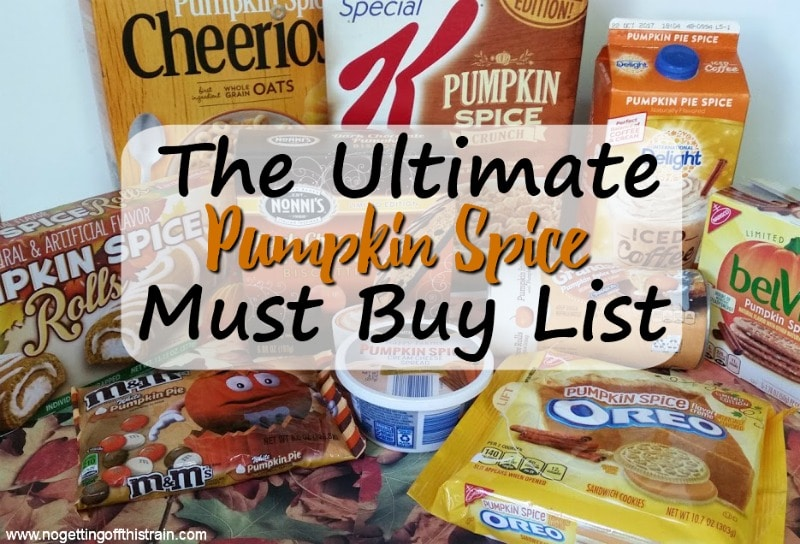 Are you a fan of pumpkin spice in the Fall? Here is your ultimate Pumpkin Spice must buy list for delicious Fall breakfasts, snacks, and more!