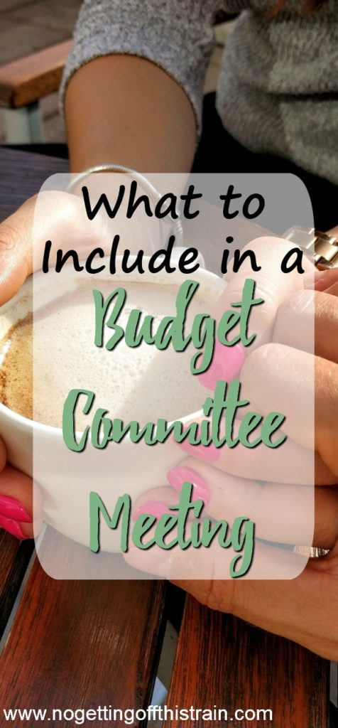 Budgeting with your spouse monthly is super important! Here's what to include in a Budget Committee Meeting to keep your finances in check.