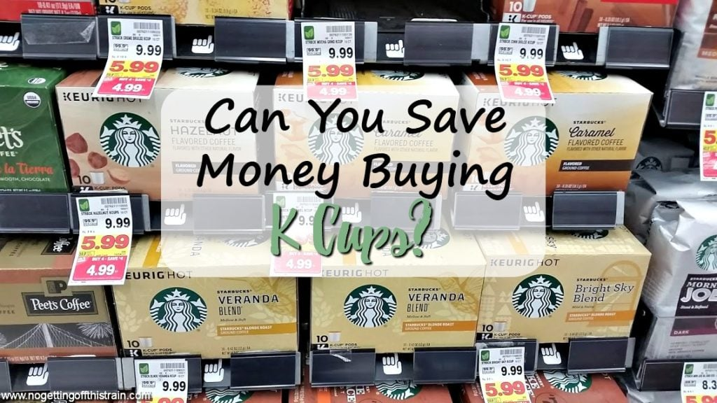 Can you save money buying K Cups? If you love coffee, read this to find out what type of coffee is cheapest and how to save money!