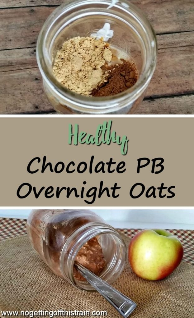 Looking for a frugal, healthy, high-protein breakfast? These Chocolate Peanut Butter Overnight Oats are simple and delicious!