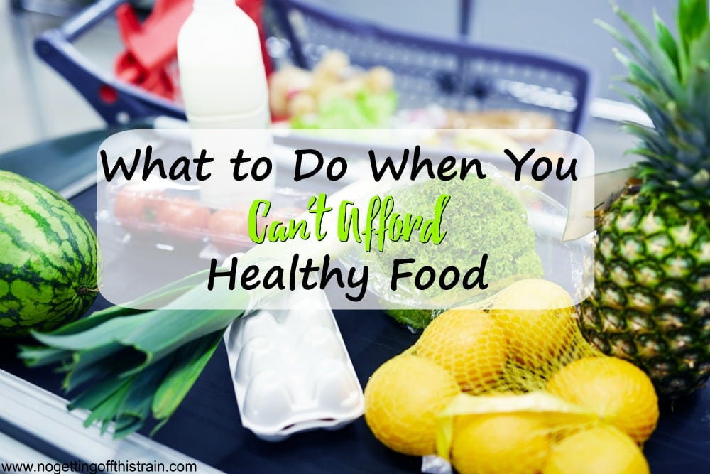 Do you feel like you can't afford healthy food? If you want to eat healthier but think your budget is too low, here are some steps to take to make sure you can do your best!