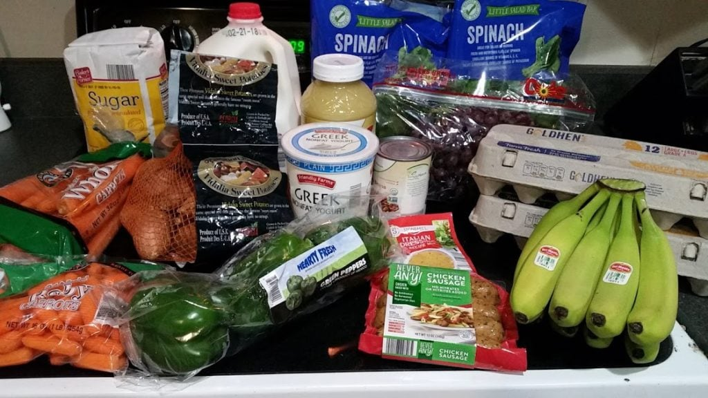Meal plan, grocery list, and coupon deals for 2-12-18. Want to know what a family of 3 eats for $75 a week? Check back every Monday!