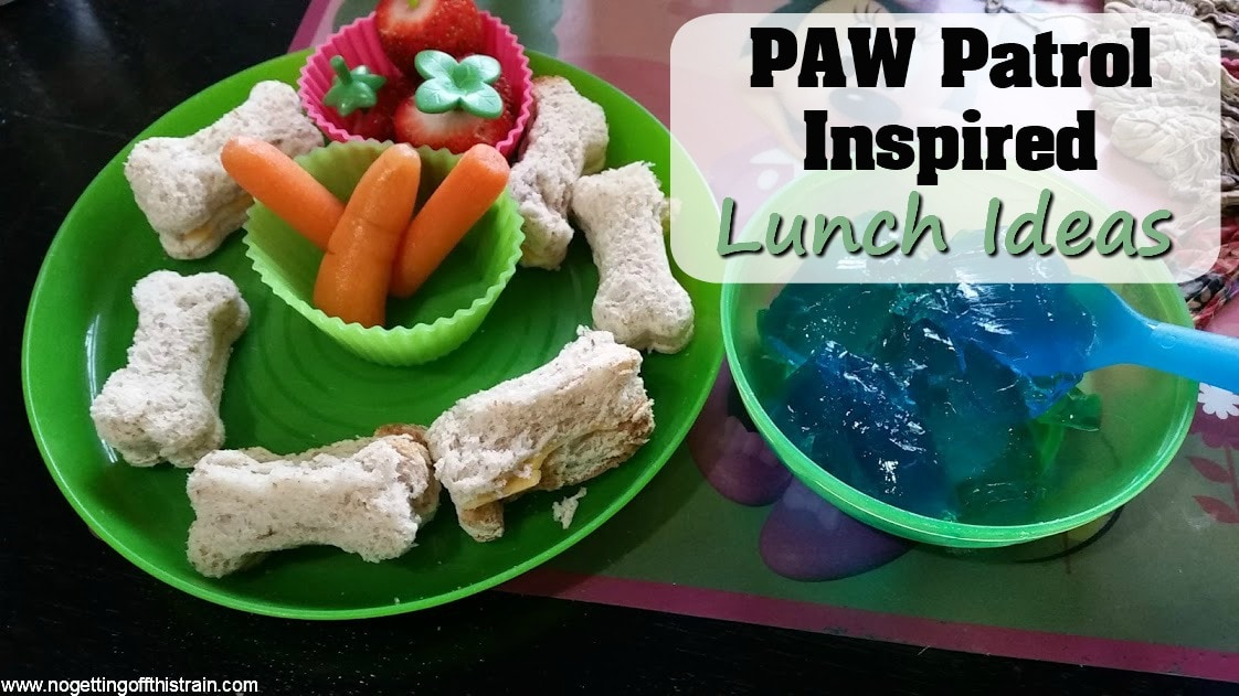 Paw Patrol Inspired Lunch Ideas