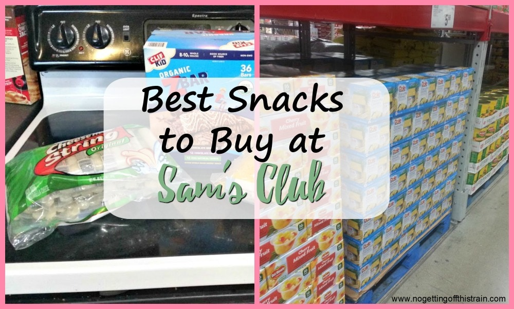 Looking to buy snacks in bulk? Here are the best snacks to buy at Sam's Club: frugal, healthy snacks with price comparisons!