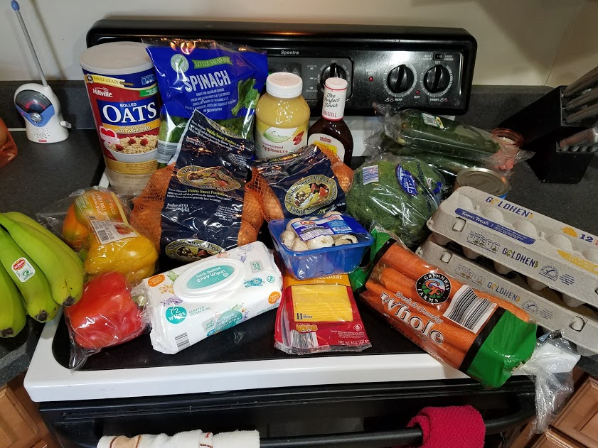 Meal plan, grocery list, and coupon deals for 4-30-18. Want to know what a family of 3 eats for $75 a week? Check back every Monday!