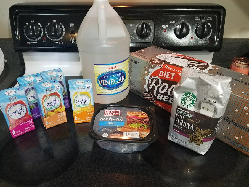 Meal plan, grocery list, and coupon deals for 5-21-18. Want to know what a family of 3 eats for $75 a week? Check back every Monday!
