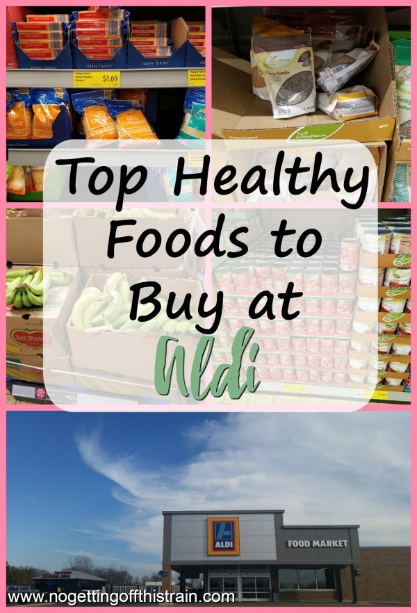 Just because Aldi is really cheap doesn't mean it doesn't sell healthy foods! Here are my top healthy foods to buy at Aldi to keep your grocery budget low.