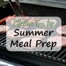 Tips for Summer Meal Prep