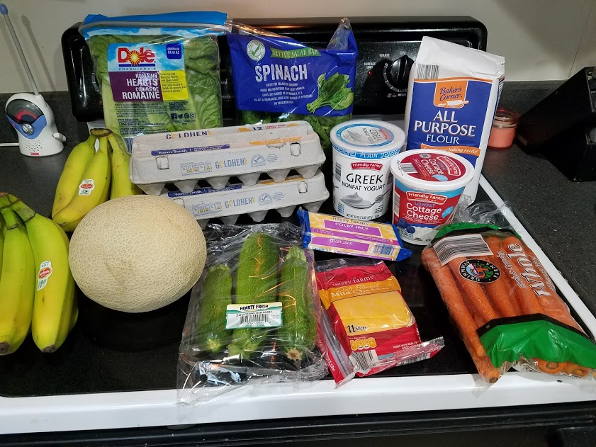 Can you eat for $30 a week? Look at this family of 3's temporary low grocery budget with a grocery list, menu, and frugal recipes! Week of: 7-16-18.