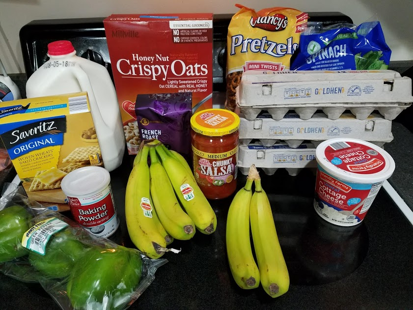 Can you eat for $30 a week? Look at this family of 3's temporary low grocery budget with a grocery list, menu, and frugal recipes! Week of: 7-23-18.