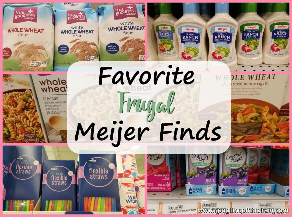 Favorite Frugal Meijer Finds
