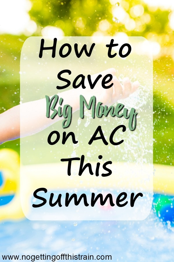 If you hate paying high electricity bills in Summer, here are some ways to save money on your AC and still keep cool this season! #summer #cool