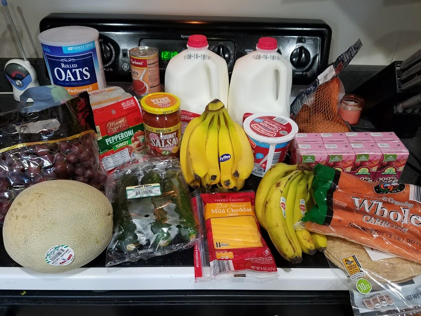 Can you eat for $30 a week? Look at this family of 3's temporary low grocery budget with a grocery list, menu, and frugal recipes! Week of: 8-6-18.