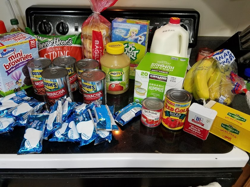 Can you eat for $30 a week? Look at this family of 3's temporary low grocery budget with a grocery list, menu, and frugal recipes! Week of: 8-20-18.