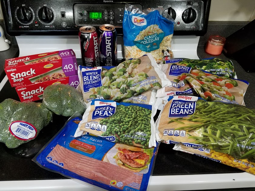 Can you eat for $30 a week? Look at this family of 3's temporary low grocery budget with a grocery list, menu, and frugal recipes! Week of: 8-27-18.
