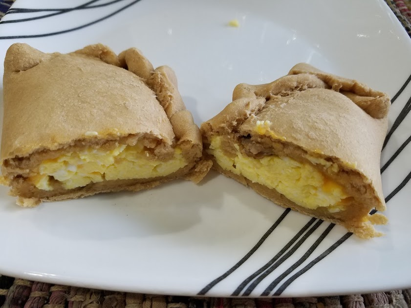 Sausage Egg and Cheese Breakfast Calzones