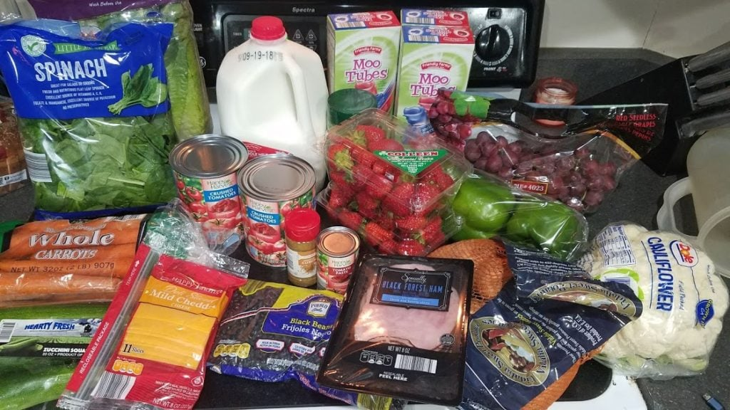 Can you eat for $30 a week? Look at this family of 3's temporary low grocery budget with a grocery list, menu, and frugal recipes! Week of: 9-10-18.