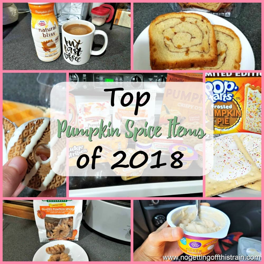 It's pumpkin season! Looking for the best pumpkin foods to try this fall? Check out these top pumpkin spice items of 2018! #pumpkin #pumpkinspice #fall #food #desserts #snacks