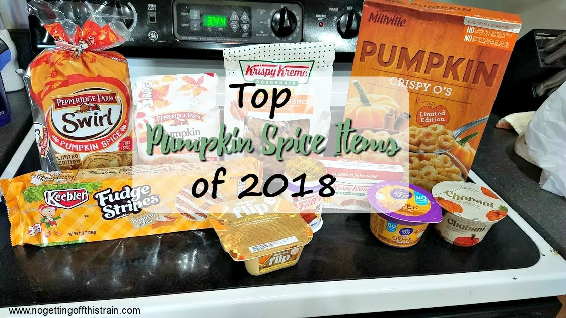 Top Pumpkin Spice Items of 2018