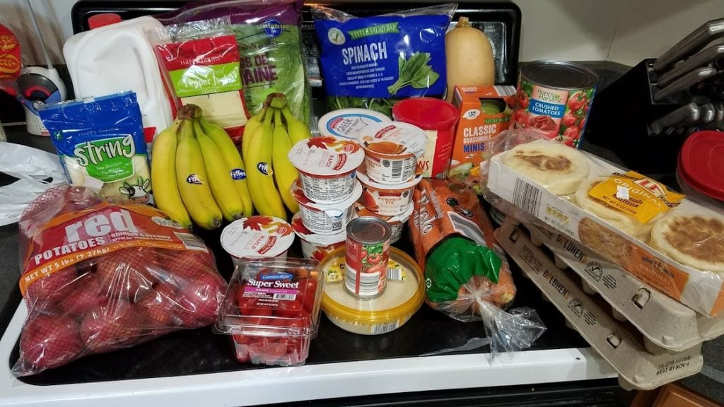 Meal plan, grocery list, and coupon deals for 10-15-18. Want to know what a family of 3 eats for $75 a week? Check back every Monday!