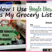 How I Use Google Docs as My Grocery List