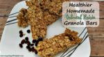 Healthier Homemade Oatmeal Raisin Granola Bars