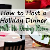 How to Host a Holiday Dinner With No Dining Room
